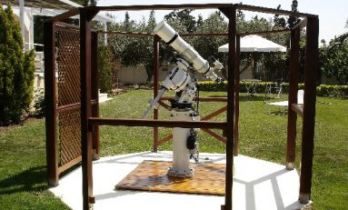 Κατασκευή παρατηρητηρίου από τον Πέτρο Διαμαντόπουλο