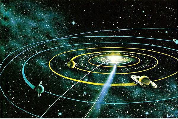 Τροχιές σωμάτων σε πεδίο Βαρύτητας : Γιώργος Νικολιδάκης