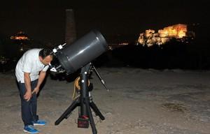Εγκαίνια τηλεσκοπίου Δωρίδη 2015