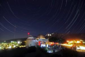 Αστεροσκοπείο Πεντέλης με Star Trails